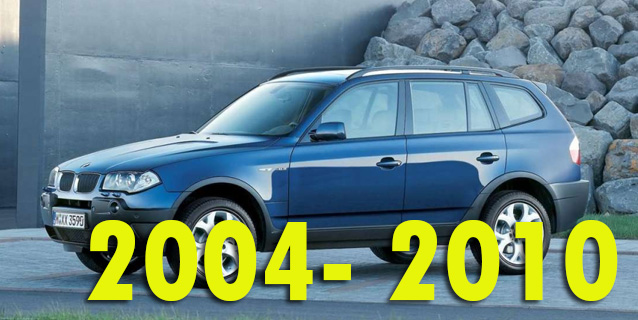 Защита картера двигателя для BMW X3 E83 2004-2010