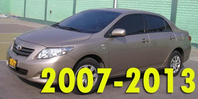 Фаркопы для Toyota Corolla 2007-2013