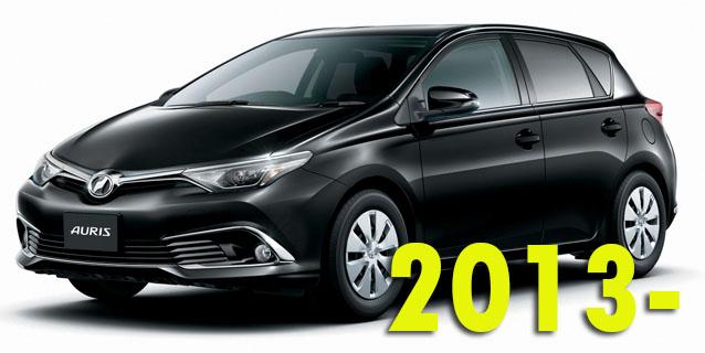 Фаркопы для Toyota Auris 2013-