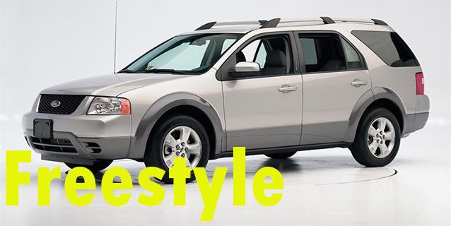 Защита картера двигателя для Ford Freestyle