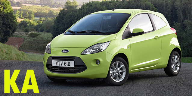 Защита картера двигателя для Ford KA