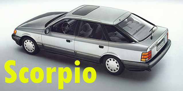 Защита картера двигателя для Ford Scorpio