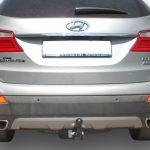 Фаркоп H224-A для Hyundai Santa Fe 2012-2018, Hyundai Grand Santa Fe 2014-2018, Kia Sorento 4 XM FL 2012-, кроме Prime, шар A, Лидер Плюс-2
