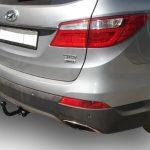 Фаркоп H224-A для Hyundai Santa Fe 2012-2018, Hyundai Grand Santa Fe 2014-2018, Kia Sorento 4 XM FL 2012-, кроме Prime, шар A, Лидер Плюс-3