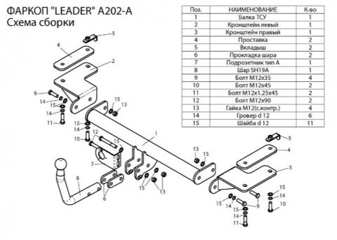 А202А схема фаркопа