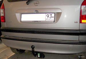Фаркоп для Opel Zafira