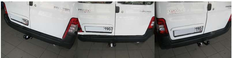 2527-A для Citroen Berlingo First 2008