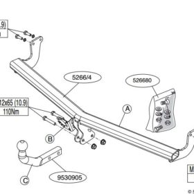 526600 для Citroen DS3 2011-1