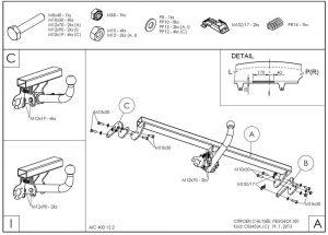 C064A для Citroen Citroen C-Elysee 2013-1