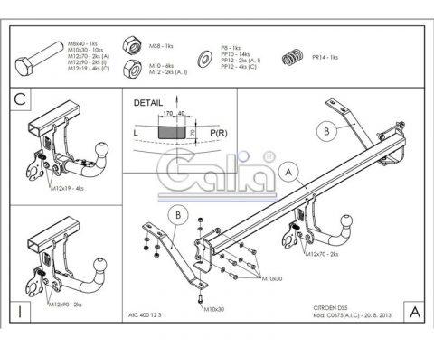 C067C для Citroen DS5 2011-1