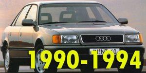 Защита картера двигателя для Audi 100 1990-1994