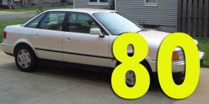 Защита картера двигателя для Audi 80