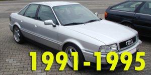 Защита картера двигателя для Audi 80 1991-1995