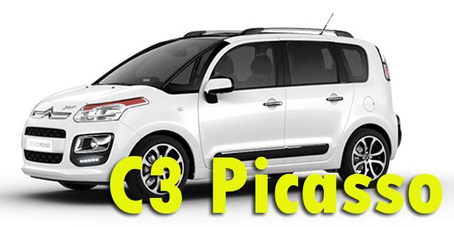 Защита картера двигателя для Citroen C3 Picasso