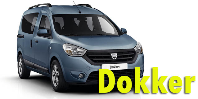 Фаркопы для Dacia Dokker