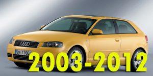 Защита картера двигателя для Audi A3 2003-2012