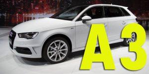 Защита картера двигателя для Audi A3