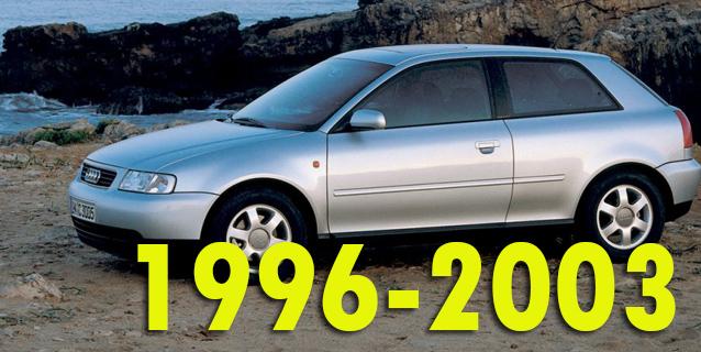 Защита картера двигателя для Audi A3 1996-2003