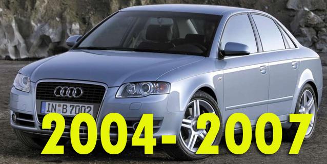 Защита картера двигателя для Audi A4 2004-2007