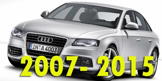 Защита картера двигателя для Audi A4 2007-2015