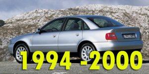 Защита картера двигателя для Audi A4 1994-2000