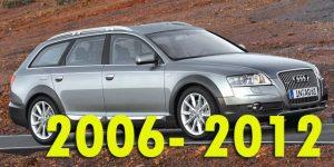 Защита картера двигателя для Audi Allroad 2006-2012