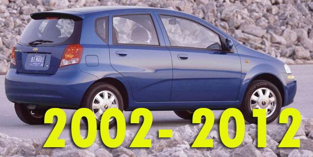 Защита картера двигателя для Chevrolet Aveo 2002-2012