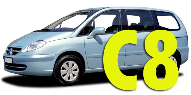Защита картера двигателя для Citroen C8