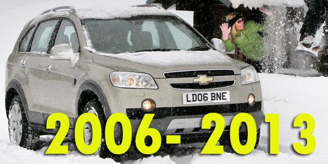 Защита картера двигателя для Chevrolet Captiva 2006-2013