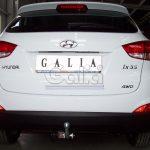 Фаркоп H083C для Hyundai ix35 2010-2015, Kia Sportage 2010-2015, шар C, Galia-9