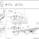Фаркоп K030A для Kia Ceed универсал 2006-2012, шар A, Galia-4