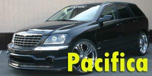 Защита картера двигателя для Chrysler Pacifica