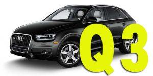 Защита картера двигателя для Audi Q3