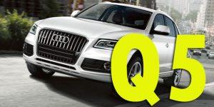 Защита картера двигателя для Audi Q5