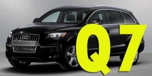 Защита картера двигателя для Audi Q7