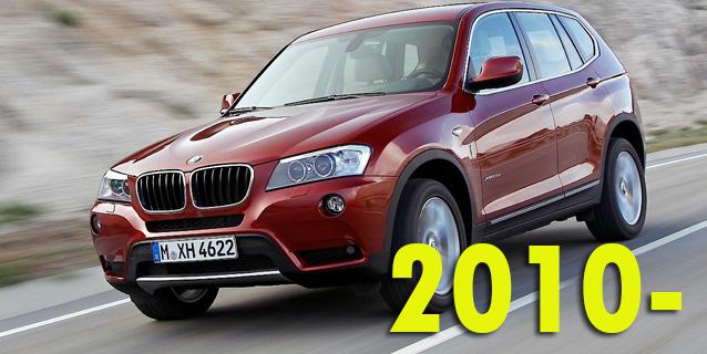 Защита картера двигателя для BMW X3 F25 2010-