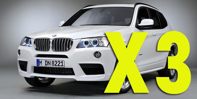 Защита картера двигателя для BMW X3