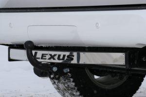 LEGX.10.4008 на Lexus GX470 надпись черная 2003-2009