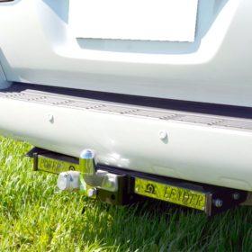 T110-F на Lexus LX570 шар кованый 2008