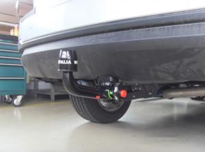 Фаркоп 348039600001 для Subaru Forester шар-автомат 2013-, Westfalia