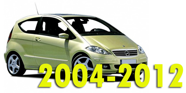 Фаркопы для Mercedes-Benz A-Class 2004-2012