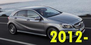 Защита картера двигателя для Mercedes-Benz A-Class 2012-