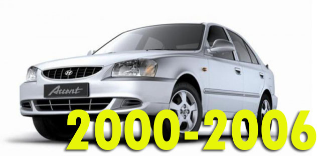 Защита картера двигателя для Hyundai Accent 2000-2006