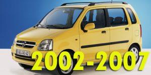 Защита картера двигателя для Opel Agila 2002-2007