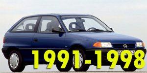 Защита картера двигателя для Opel Astra 1991-1998
