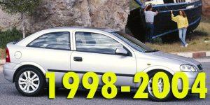 Защита картера двигателя для Opel Astra 1998-2004