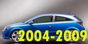 Защита картера двигателя для Opel Astra 2004-2009
