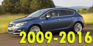 Защита картера двигателя для Opel Astra 2009-2015