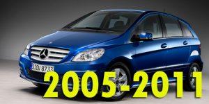 Защита картера двигателя для Mercedes-Benz B-Class 2005-2011
