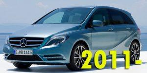 Защита картера двигателя для Mercedes-Benz B-Class 2011-